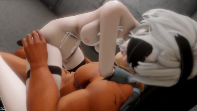 ニーアオートマタ おっぱい エロ動画