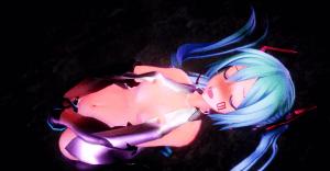 つみ式ミク エロMMD 3D動画 おっぱい iwara